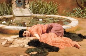 John William Godward - Dolce far niente (Sweet Nothings)