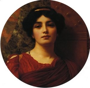 John William Godward - Contemplation