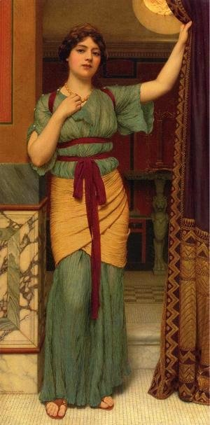 John William Godward - A Pompeian Lady 2