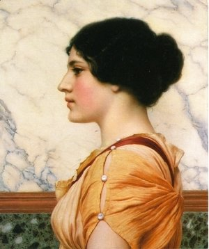 John William Godward - Cassotis