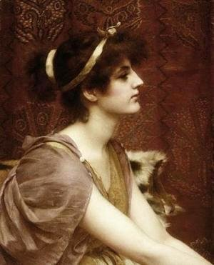 John William Godward - A Classical Beauty I 2