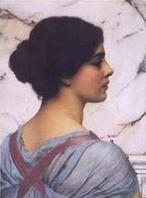 John William Godward - Belleza Pompeiana