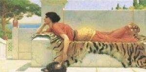 John William Godward - Expectation
