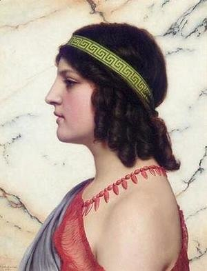 John William Godward - Praxilla