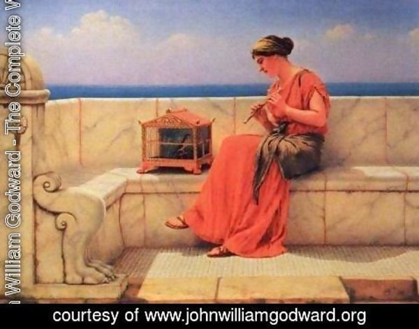 John William Godward - Sweet Sounds