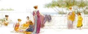 John William Godward - The Playground