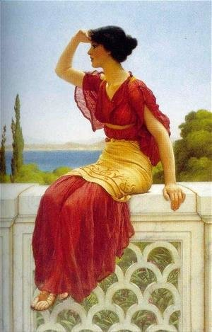 John William Godward - The Signal 2
