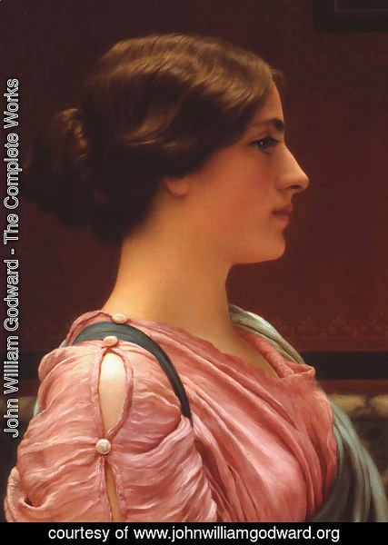 John William Godward - A Classical Beauty II
