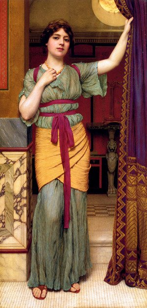 John William Godward - A Classical Lady (2)