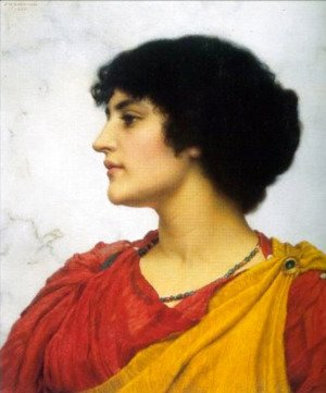 John William Godward - An Italian Girls' Head 2