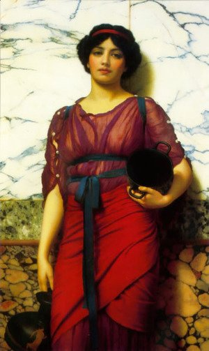 John William Godward - Grecian Idyll 2