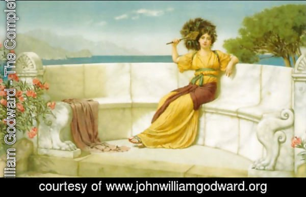 John William Godward - In the Prime of the Summer Time 2