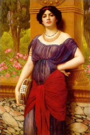 John William Godward - Tympanistria 2
