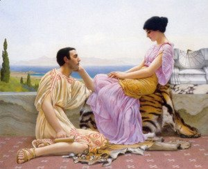 John William Godward - Youth and Time 2