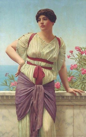 John William Godward - Matrona Superba