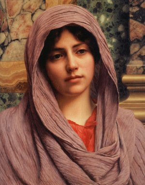 John William Godward - Lycinna