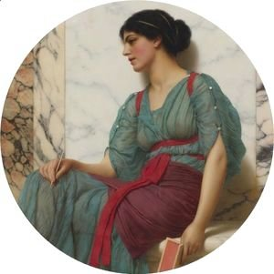 John William Godward - The Love Letter 2