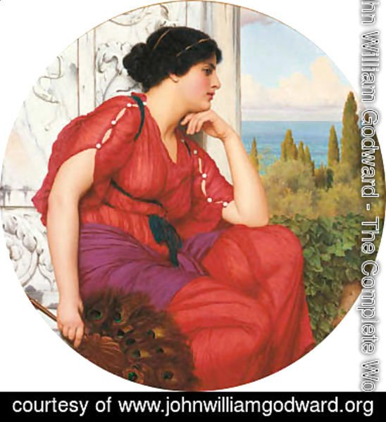 John William Godward - Reverie 3