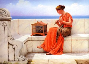 John William Godward - A Song without Words