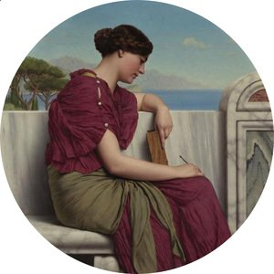 John William Godward - Reflections