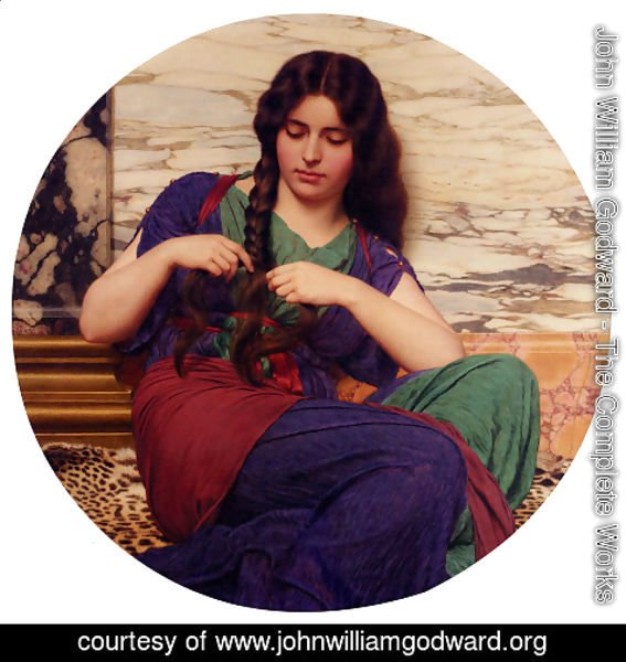 John William Godward - A Congenial Task