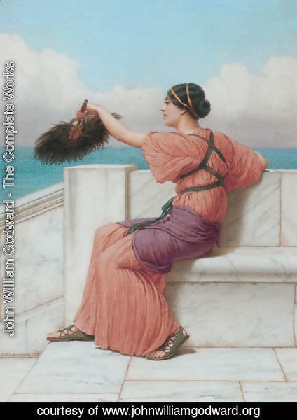 John William Godward - A Fond Farewell