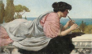 John William Godward - A Melody