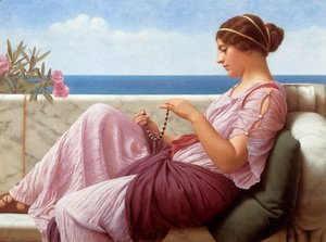 John William Godward - A Souvenir