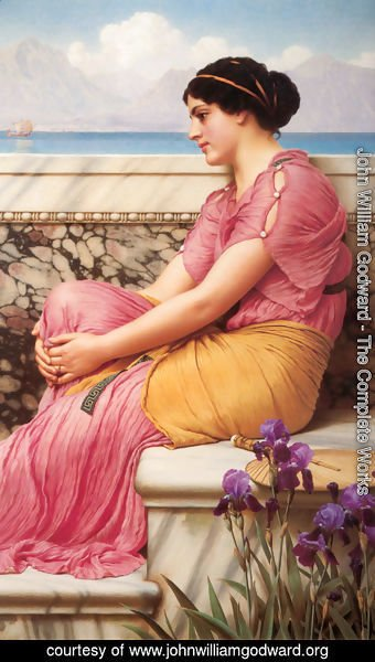 John William Godward - Absence Makes The Heart Grow Fonder