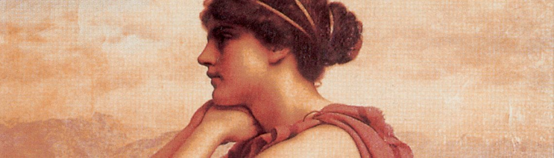 John William Godward - By The Wayside