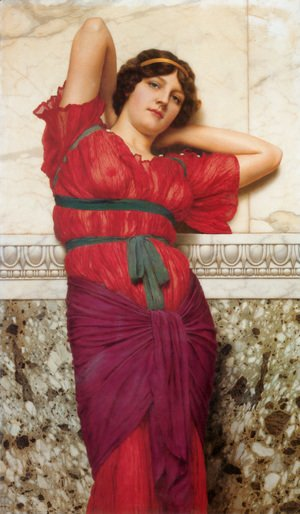 John William Godward - Contemplation Ii