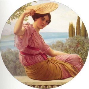 John William Godward - Golden Hours