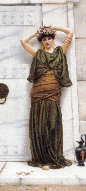 John William Godward - The Ian