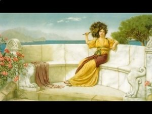 John William Godward - In The Prime Of The Summer Time