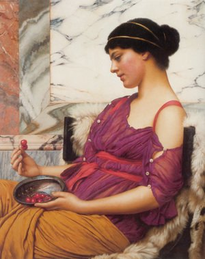 John William Godward - Ismenia