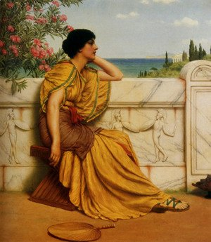 John William Godward - Leisure Hours