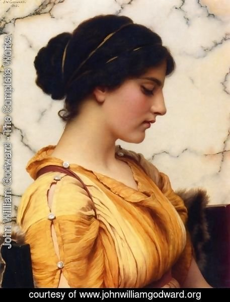 John William Godward - Sabinella