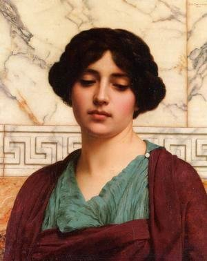 John William Godward - Stesicrate