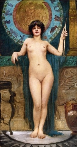 John William Godward - Study Of Campaspe