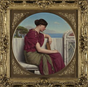 John William Godward - The Answer