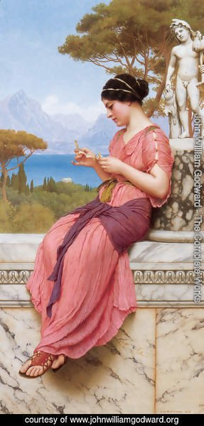 John William Godward - The Love Letter