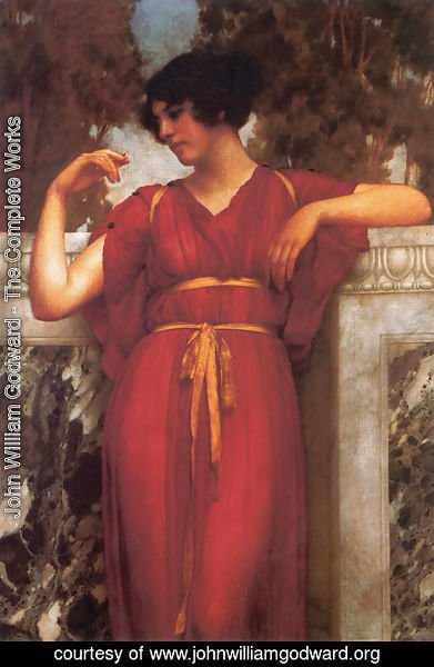 John William Godward - The Ring