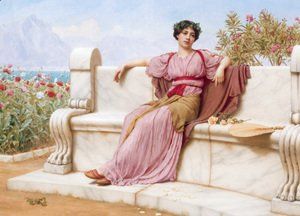 John William Godward - Tranquillity