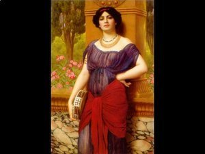John William Godward - Tympanistria