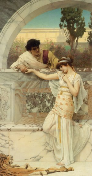 John William Godward - Yes Or No