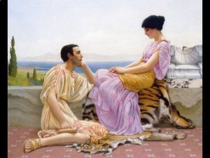 John William Godward - Youth And Time