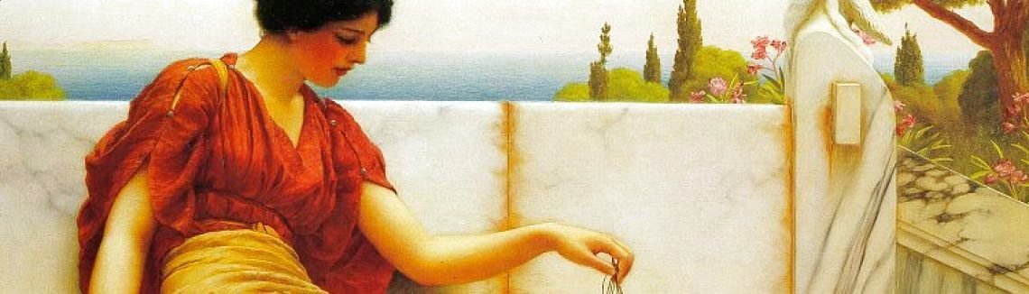 John William Godward - The Tease 1901